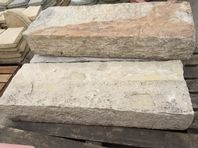 "MINT FOSSIL NATURAL STONE SLEEPERS 38.5"" LONG X 6.5"" DEEP X 13.5"" HIGH 3 NO"